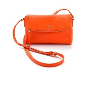 Kate Spade Orange Cobble Hill Mini Carson Bag